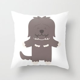 Cao Da Serra De Aires Gift Idea Throw Pillow
