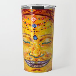 Happy Buddha Head Travel Mug