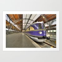 german Art Prints featuring German DMU  by Rob Hawkins Photography