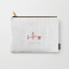 Golden Gate Bridge, San Francisco, California Carry-All Pouch