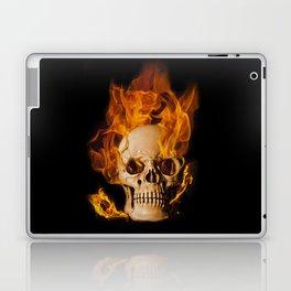 Another Burning Skull Laptop & iPad Skin
