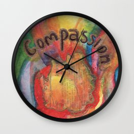 Compassion Wall Clock