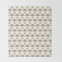 Tiny Triangles Throw Blanket