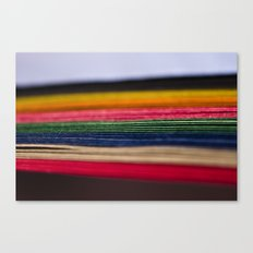 color papers Canvas Print