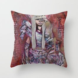 """Celebrity Worship"" by Lindsay Wiggins Throw Pillow"