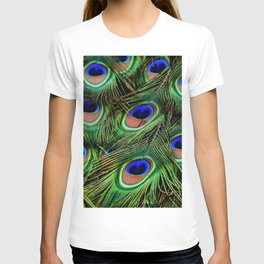 Peacock feathers | Plumes de Paon T-shirt