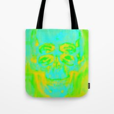 POP Skull Tote Bag