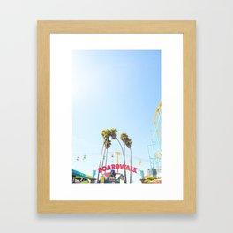 Santa Cruz Boardwalk Series 6 Framed Art Print