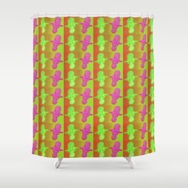 Fantasy-war-pattern #3 Shower Curtain