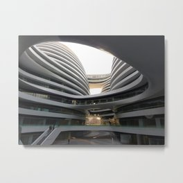 Zaha H A D I D | architect | Galaxy Soho, Beijing Metal Print