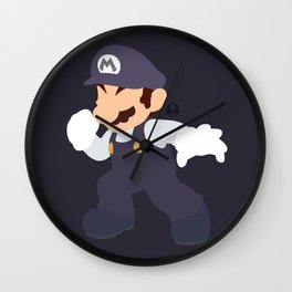 Mario(Smash)Cookies&Cream Wall Clock