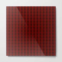 Blood: Pattern Metal Print
