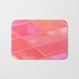 Re-Created Mirrored SQ LXXVI by Robert S. Lee Bath Mat