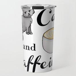 Cats and Caffeine Travel Mug