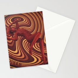 Psychedelic Quivering Stationery Cards