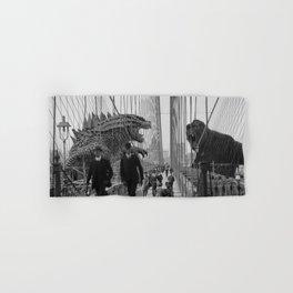 Old Time Godzilla vs. King Kong Hand & Bath Towel