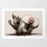 Shirime Art Print