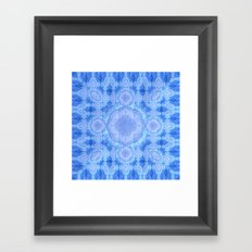 Blue Too Framed Art Print