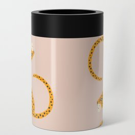 Leopard Race - pink Can Cooler