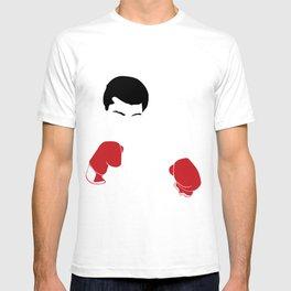 Faceless Ali Cassius Muhammad Clay T-shirt