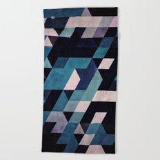 blux redux Beach Towel