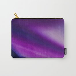 Purple Blue Cool Tone Geode Rock Stone Crystal Fine Art Print Carry-All Pouch