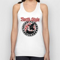 vikings Tank Tops featuring Vikings by North Style