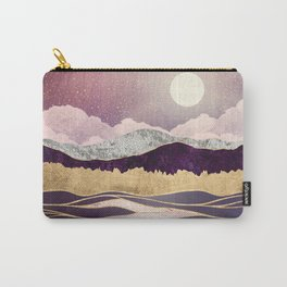 Lunar Waves Carry-All Pouch