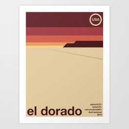 el dorado single hop Art Print