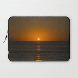 Pure Orange Sunset Laptop Sleeve