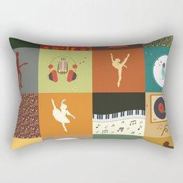PATCHWORK198 Rectangular Pillow