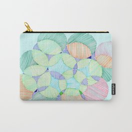 Circles and lines Carry-All Pouch