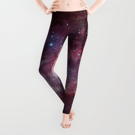 Carina Nebula of the Milky Way Galaxy Leggings