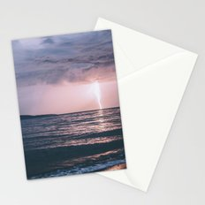 Lightning over the Strait of Georgia Stationery Cards