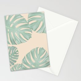 Monstera Suara Stationery Cards