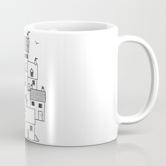 Harbour sketch Mug
