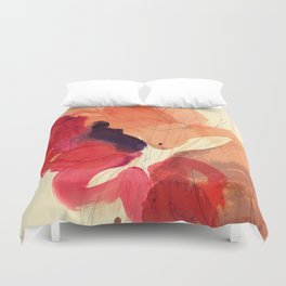 gestural abstraction 01 Duvet Cover