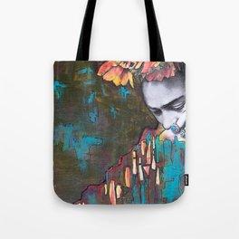 frida loves turquoise Tote Bag