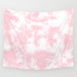 Pink Tie Dye & Batik Wall Tapestry