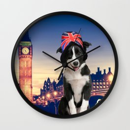 Pulp in London Wall Clock