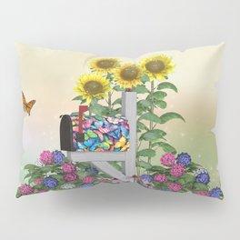 Seasons Mailbox Summer Pillow Sham