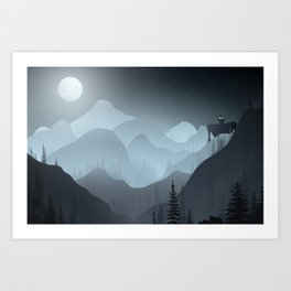 Iron Giant Art Print
