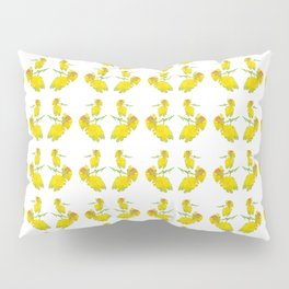 Yellow Rose Fabric Pillow Sham