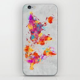 Mother Earth Crying iPhone Skin
