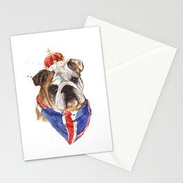 British Bulldog Stationery Cards