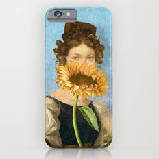 Girl with Sunflower 1 Slim Case iPhone 6s