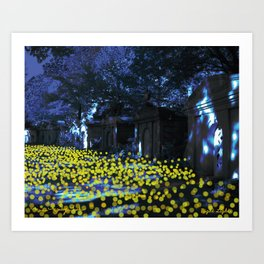 Nightlights Art Print