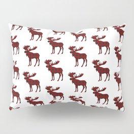 Buffalo Check Moose Pillow Sham
