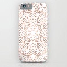 Mandala Rose Gold Pink Shimmer #society6 Slim Case iPhone 6s