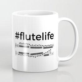 #flutelife Coffee Mug